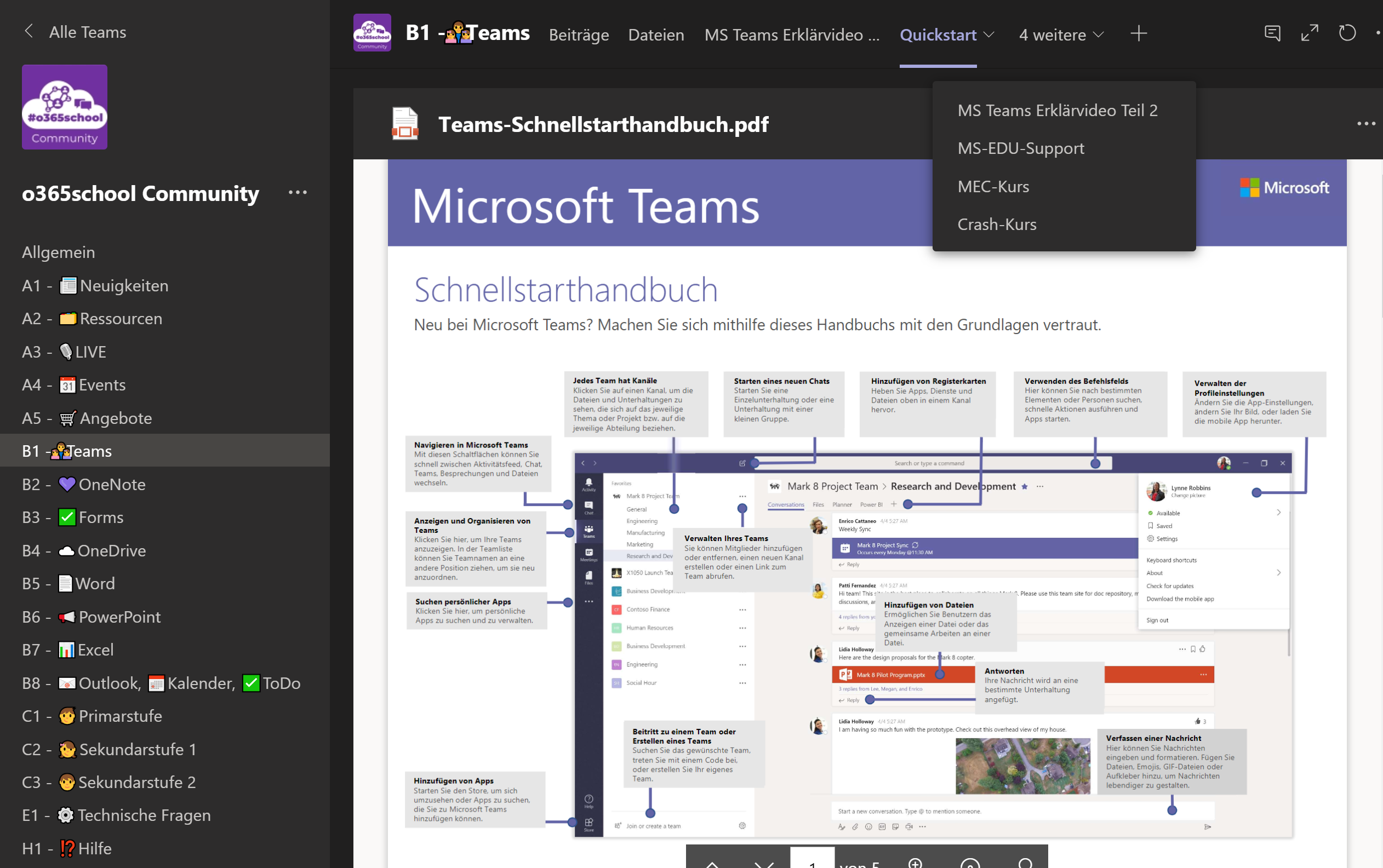 o365school Community - Screenshot1